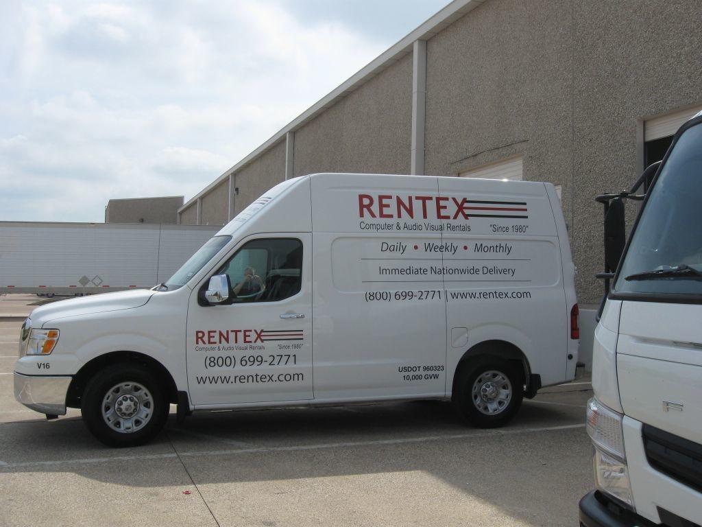 Rentex Fleet Wraps