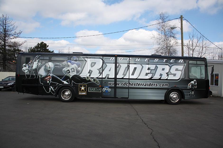 3m Vinyl Bus Wrap in Binghamton, Buffalo, Erie With Window